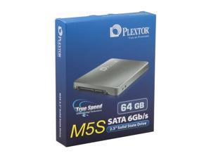 """Plextor M5S Series PX-64M5S 2.5"""" 64GB SATA III Internal Solid State Drive (SSD)"""