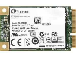 Plextor M5M PX-128M5M 128GB Mini-SATA (mSATA) MLC Internal Solid State Drive (SSD)