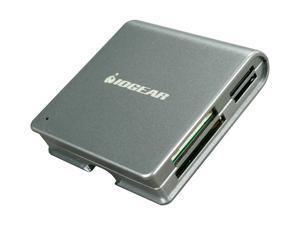 IOGEAR GFR210 50-in-1 USB 2.0 Portable Card Reader