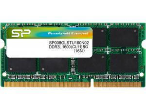 Silicon Power 8GB 204-Pin DDR3 SO-DIMM DDR3L 1600 (PC3L 12800) Laptop Memory Model SP008GLSTU160N02NE