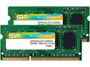 Silicon Power 8GB (2 x 4GB) 204-Pin DDR3 SO-DIMM DDR3L 1600 (PC3L 12800) Laptop Memory Model SP008GLSTU160N22NE