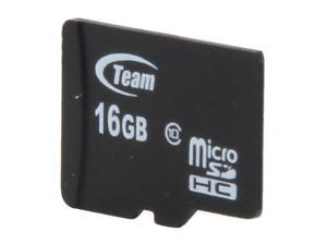 Team 16GB microSDHC Flash Card (Card Only) Model TG016G0MC28X