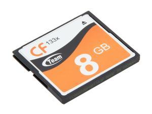 Team 8GB Compact Flash (CF) Flash Card Model TG008G2NCFFX