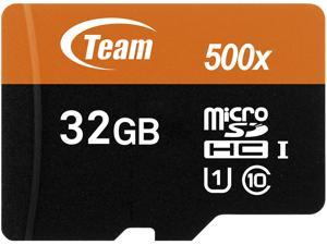 Team 32GB microSDHC Flash Card Model TUSDH32GUHS03