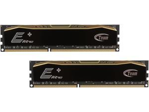 Team Elite Plus 8GB (2 x 4GB) 240-Pin DDR3 SDRAM DDR3 1600 (PC3 12800) Desktop Memory Model TPD38G1600C11DC01
