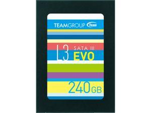 "Team Group L3 EVO 2.5"" 240GB SATA III TLC Internal Solid State Drive (SSD) T253LE240GTC101"