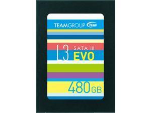 """Team Group L3 EVO 2.5"""" 480GB SATA III TLC Internal Solid State Drive (SSD) T253LE480GTC101"""