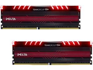 Team Delta 16GB (2 x 8GB) 288-Pin DDR4 SDRAM DDR4 2400 (PC4 19200) Desktop Memory Model TDTRD416G2400HC15ADC01