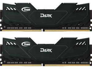 Team Dark 16GB (2 x 8GB) 288-Pin DDR4 SDRAM DDR4 2400 (PC4 19200) Desktop Memory Model TDKED416G2400HC14DC01