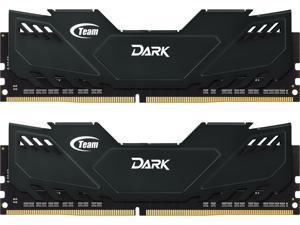 Team Dark 16GB (2 x 8GB) 288-Pin DDR4 SDRAM DDR4 2400 (PC4 19200) Desktop Memory Model TDKED416G2400HC14DC01