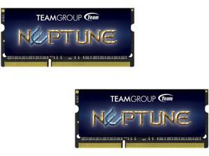 Team Neptune 16GB (2 x 8G) 204-Pin DDR3 SO-DIMM DDR3 1600 (PC3 12800) Laptop Memory Model TND3L16G1600HC9DC-S01