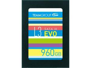 "Team Group L3 EVO 2.5"" 960GB SATA III TLC Internal Solid State Drive (SSD) T253LE960GTC101"