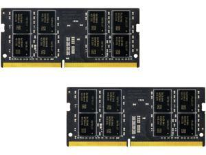 Team Elite 32GB (2 x 16G) 260-Pin DDR4 SO-DIMM DDR4 2133 (PC4 17000) Laptop Memory Model TED432GM2133C15DC-S01