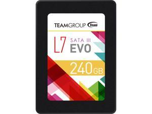 "Team Group L7 EVO 2.5"" 240GB SATA III Internal Solid State Drive (SSD) T253L7240GTC101"