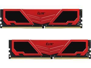 Team Elite Plus 16GB (2 x 8GB) 288-Pin DDR4 SDRAM DDR4 2400 (PC4 19200) Memory (Desktop Memory) Model TPRD416G2400HC16DC01