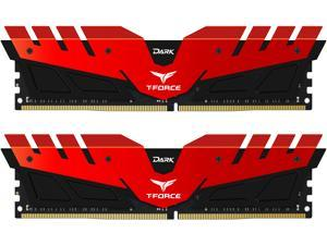 Team Dark 16GB (2 x 8GB) 288-Pin DDR4 SDRAM DDR4 3000 (PC4 24000) Memory (Desktop Memory) Model TDRED416G3000HC16CDC01