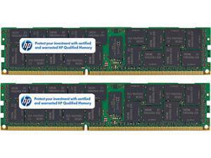 HP 8GB (2 x 4GB) 240-Pin DDR2 SDRAM DDR2 667 (PC2 5300) ECC Registered System Specific Memory Model 408854-B21