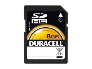 Duracell 8GB Secure Digital High-Capacity (SDHC) Flash Card Model DU-SD-8192-R