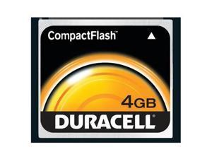 Duracell 4GB Compact Flash (CF) Flash Card Model DU-CF-4096-R