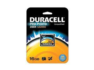 Duracell 16GB Compact Flash (CF) Flash Card Model DU-CF30-16G-C