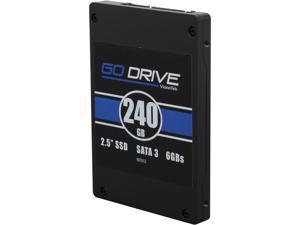"VisionTek GoDrive 2.5"" 240GB SATA III MLC Internal Solid State Drive (SSD) 900512"