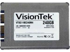 "VisionTek Go Drive 1.8"" 240GB SATA III MLC Internal Solid State Drive (SSD) 900756"