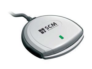 SCM SCR3310V2GSA 1 card USB 1.1 USB Smart Card Reader (ROM)