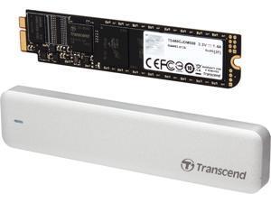 Transcend JetDrive 500 480GB USB 3.0 / SATA 6Gb/s MLC Internal / External Solid State Drive (SSD) TS480GJDM500