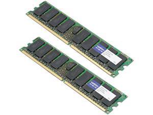 AddOn - Memory Upgrades 8GB (2 x 4GB) 240-Pin DDR2 SDRAM ECC Fully Buffered DDR2 667 (PC2 5300) Server Memory Model 397415-S21-AM
