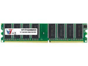 V7 1GB 184-Pin DDR SDRAM DDR 400 (PC 3200) Desktop Memory Model V71T1GNSKCI