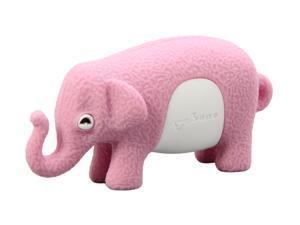 Bone Collection Elephant Driver 4GB USB 2.0 Flash Drive (Pink) Model DR09011-4P