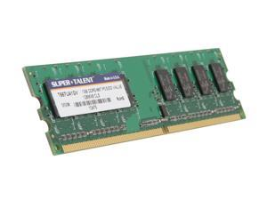 SUPER TALENT 1GB 240-Pin DDR2 SDRAM DDR2 667 (PC2 5300) Desktop Memory Model T667UA1GV