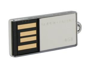 SUPER TALENT Pico_C 4GB Flash Drive (USB2.0 Portable) Model STU4GPCS
