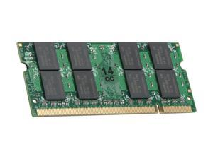 SUPER TALENT 2GB 200-Pin DDR2 SO-DIMM DDR2 800 (PC2 6400) Laptop Memory Model T800SB2G/V