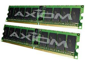 Axiom 8GB (2 x 4GB) 240-Pin DDR2 SDRAM DDR2 667 (PC2 5300) ECC Registered System Specific Memory Model AX16491434/2