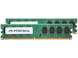 Axiom 2GB (2 x 1GB) 240-Pin DDR2 SDRAM DDR2 800 (PC2 6400) Desktop Memory Model AX2800N5S/2GK