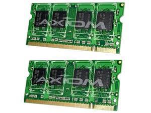 Axiom 4GB (2 x 2GB) 200-Pin DDR2 SO-DIMM DDR2 800 (PC2 6400) Laptop Memory Model AXG17391406/2
