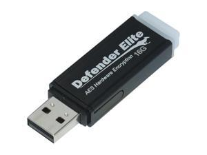 Kanguru Defender Elite 16GB USB 2.0 Flash Drive Hardware-based encryption