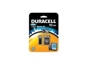 Duracell DU-3IN1C1016G-R 16 GB MicroSD High Capacity (microSDHC) - 1 Card