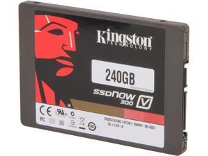 "Kingston SSDNow V300 Series 2.5"" 240GB SATA III Internal Solid State Drive (SSD) SV300S37A/240G"