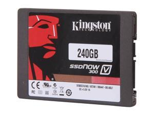 "Kingston SSDNow V300 Series 2.5"" 240GB SATA III MLC Internal Solid State Drive (SSD) SV300S3D7/240G"