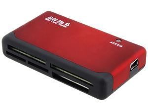 INSTEN 1042799 26-in-1 USB 2.0 SIM Card / Memory Card Reader