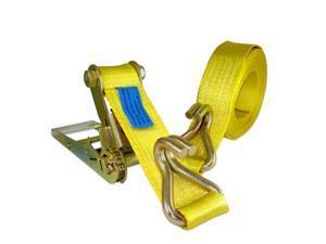 Neiko 20,000 LB 3-Inch x 30-Ft Ratchet Tie-Down with J-Hook
