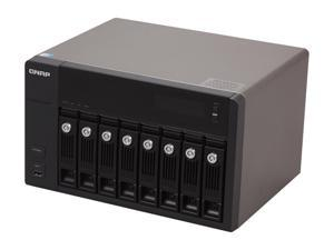 QNAP TS-869-PRO-US Diskless System 8-Bay, All-in-One NAS