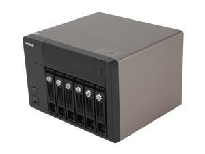 QNAP TS-669-PRO-US Diskless System 6-Bay, All-in-One NAS