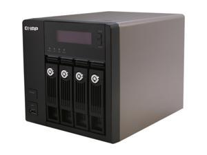 QNAP TS-469-PRO-US Diskless System 4-Bay, All-in-One NAS