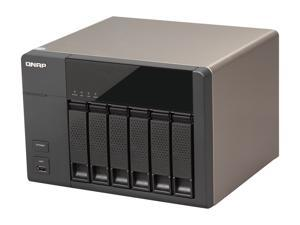 QNAP TS-669L-US Diskless System High-performance 6-bay NAS Server for SMBs