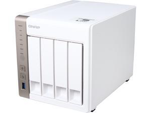 QNAP TS-451-US Diskless System 4-Bay Personal Cloud NAS with HDMI output, DLNA, AirPlay and PLEX Support