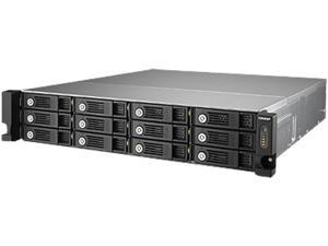 QNAP TVS-1271U-RP-PT-4G-US Diskless System 12 -bay high performance unified storage