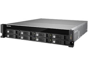 QNAP TVS-871U-RP-i3-4G-US 8 -bay high performance unified storage